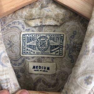 Lucky Brand Shirts - Lucky Brand Paisley Long Sleeve Button Down Sz M